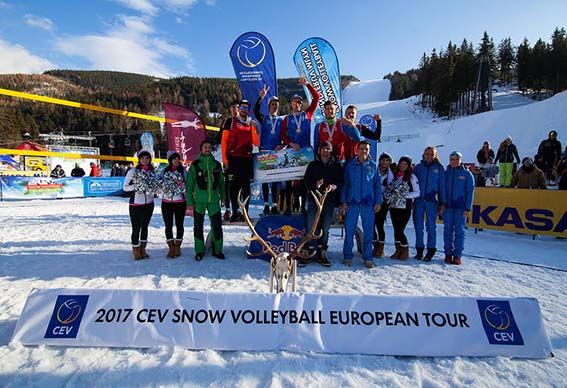 2017 CEV snow volleyball European Tour