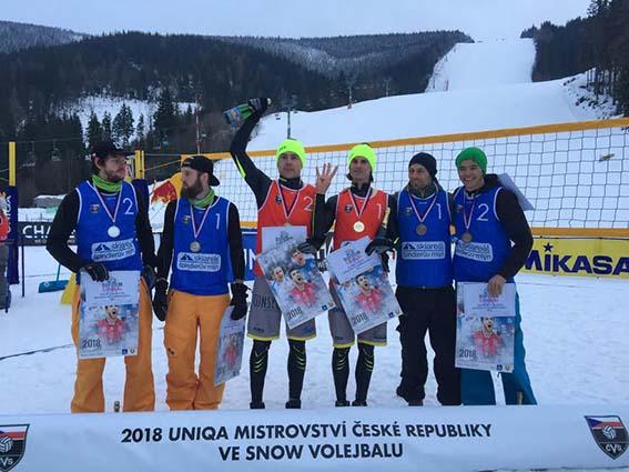 MČR snow volejbal 2018